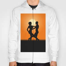 Sunset Dancing Lovers Hoody