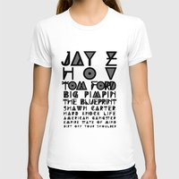 jay z T-shirts featuring Eye Test - JAY Z by Studio Samantha