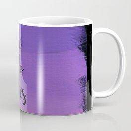 She Who Dares - Indigo Ombre Coffee Mug