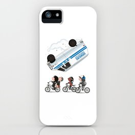 stranger thing iPhone Case