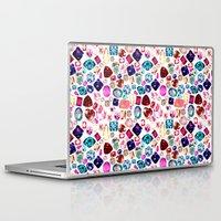 gem Laptop & iPad Skins featuring GEM by Liz Haywood