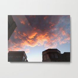A painting in the sky Metal Print