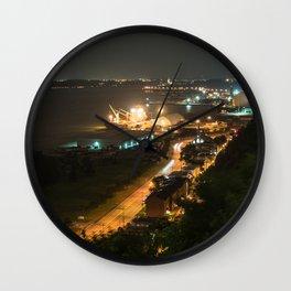 Le Fleuve Urban Wall Clock