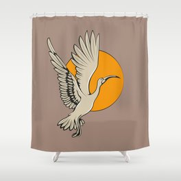 Ibis Shower Curtain