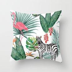 Nature Zebre pattern Throw Pillow