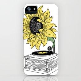Singing in the sun iPhone Case