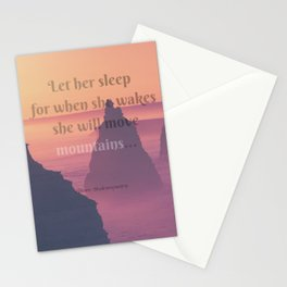 Mountain Mover Stationery Cards
