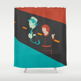 It happened one night Shower Curtain