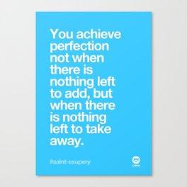 Design Quotes #10 Canvas Print