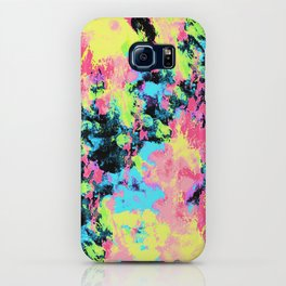 Blacklight Neon Swirl iPhone Case