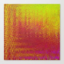 LASERTRONIC WAVES BOILING ORION TWO Canvas Print