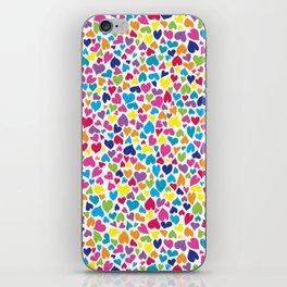 Little Hearts iPhone Skin