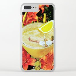 Daiquiri I Clear iPhone Case