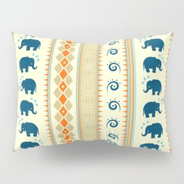 Ethnic Pattern Pillow Sham