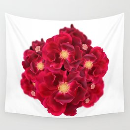 Floral Ink Wall Tapestry