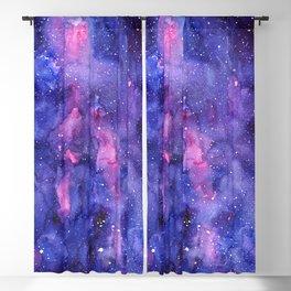Galaxy Pattern Watercolor Blackout Curtain