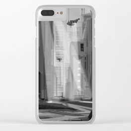 Scavenger Hunt Clear iPhone Case
