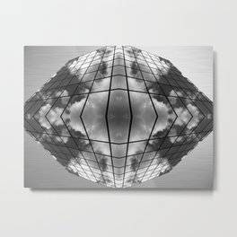 Visions from the Future - Osaka Metal Print