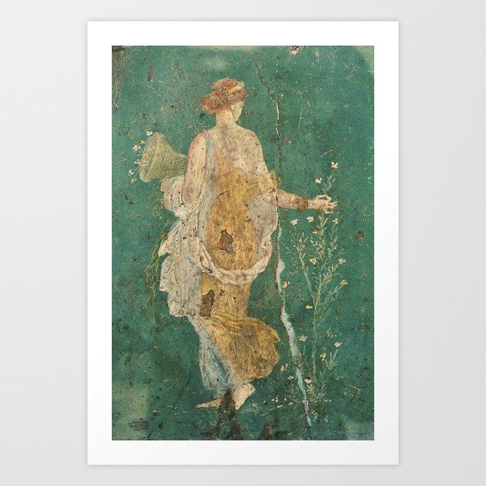 Flora Fresco Kunstdrucke