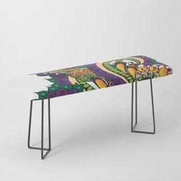 Hello 70s! Corally Bench