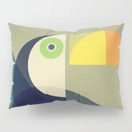 Mid Century Toucan Pillow Sham