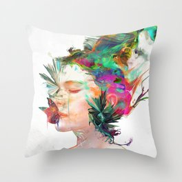 Breathe Me Throw Pillow