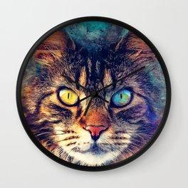 cat Friday #cat #cats #animals Wall Clock