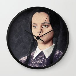 Wednesday Addams Wall Clock