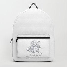 OLena Art Tee Design Bee-yoo-tee-ful Drawing Backpack