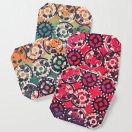 Grunge industrial pattern Coaster