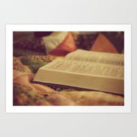 bible Art Prints featuring Bible by KimberosePhotography