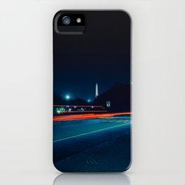Iconic Washington D.C. Memorials At Night iPhone Case