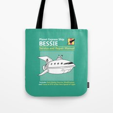 Bessie Service and Repair Manual Tote Bag