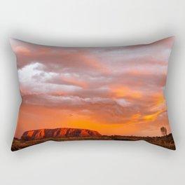Uluru's Finest Rectangular Pillow