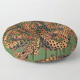 Snarly Snake Floor Pillow
