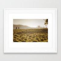 run Framed Art Prints featuring Run by Sébastien BOUVIER