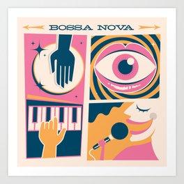 Bossa Nova Cuca Fresca Art Print