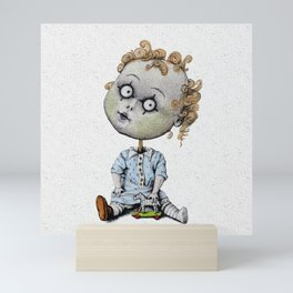 The Zombie Games (boy) Mini Art Print