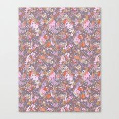 painted floral Canvas Print