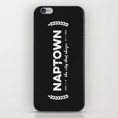 Naptown | the city that sleeps | Indianapolis iPhone Skin