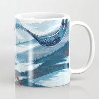 saga Mugs featuring The Banner Saga by Tori
