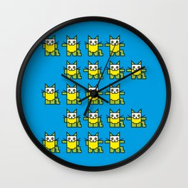 Catroid Pattern Wall Clock