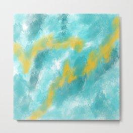 Blend of Water Metal Print