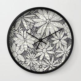 Bloomers Wall Clock