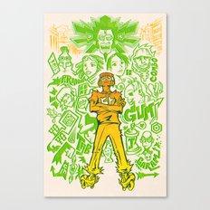 Tokyo-to Canvas Print