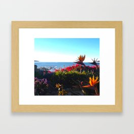 Where I Want To Be Framed Art Print