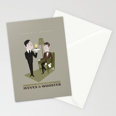 Jeeves & Wooster Stationery Cards