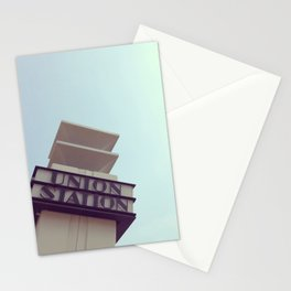 Union Station - Los Angeles Stationery Cards