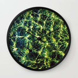 River Waters Wall Clock