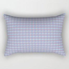 Pastel Chevron Pattern Rectangular Pillow